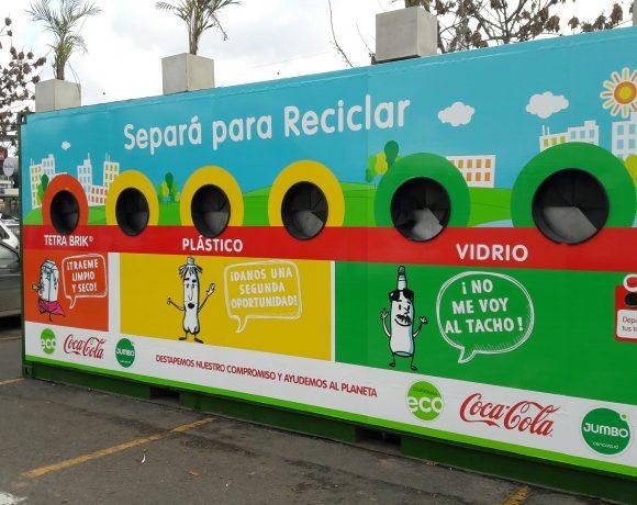 Jumbo y Coca-Cola reciclan