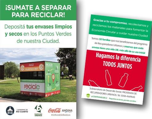 Campaña mes del medio Ambiente
